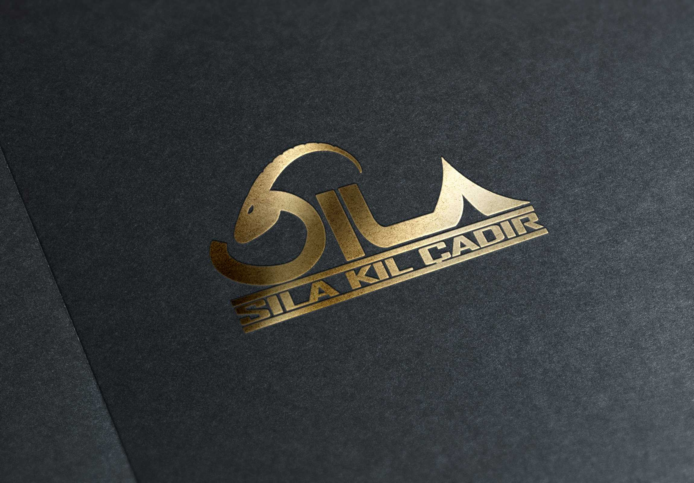 sıla kıl çadır - logo tasarımı