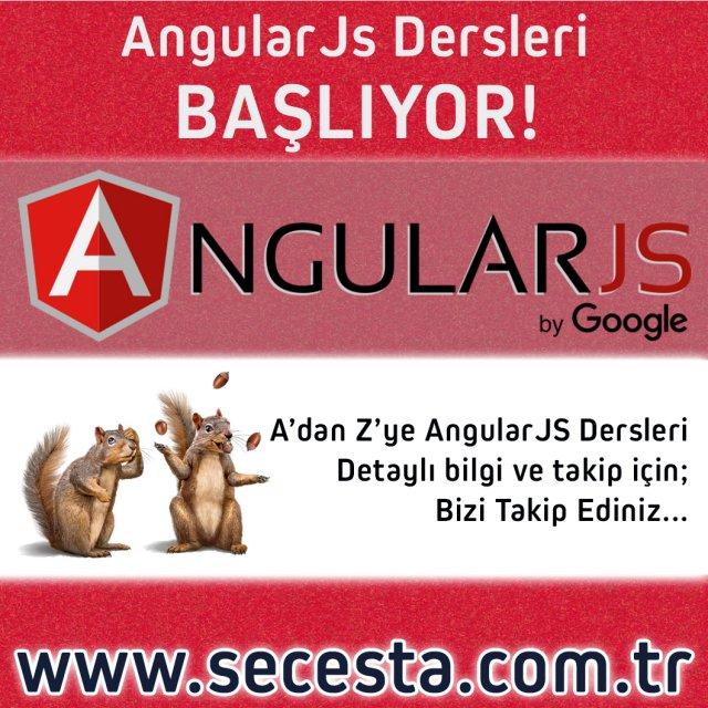 AngularJs Dersleri
